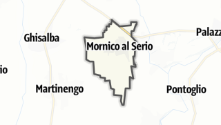 Hartă / Mornico al Serio