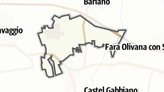 Hartă / Fornovo San Giovanni