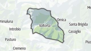 Hartă / Valtorta