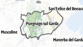 Karte / Puegnago sul Garda