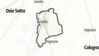 Hartă / Verdello