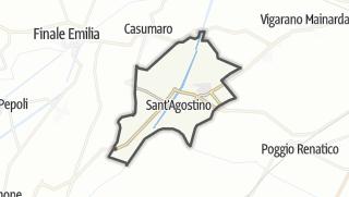 地图 / Sant'Agostino