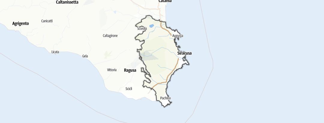 Karte / Siracusa
