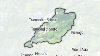 מפה / Tramonti di Sotto