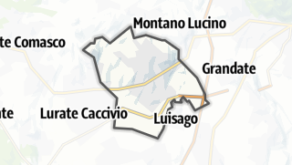 Kartta / Villa Guardia