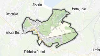 Hartă / Anzano del Parco