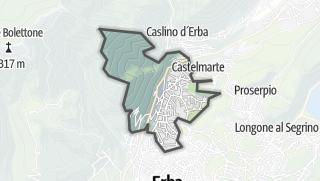 Kartta / Ponte Lambro