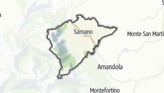 Hartă / Sarnano