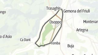 מפה / Osoppo