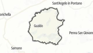 Hartă / Gualdo