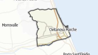 Hartă / Civitanova Marche