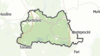 מפה / Monticiano