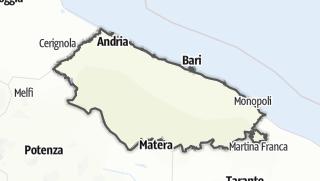 Mapa / Bari