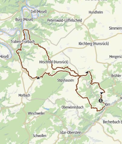 Karte / Große Moseltour 2 Tage (Planung)