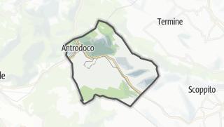 Mapa / Antrodoco