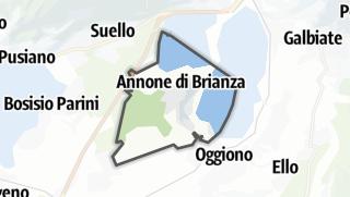 地图 / Annone di Brianza