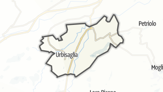 Hartă / Urbisaglia