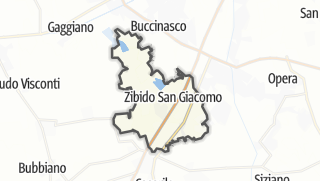 Mapa / Zibido San Giacomo