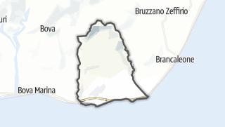 Mapa / Palizzi