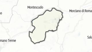 Mapa / Gemmano
