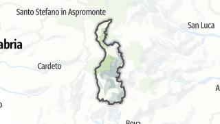 Mapa / Roccaforte del Greco