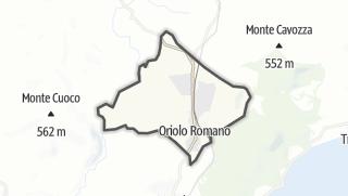 Hartă / Oriolo Romano