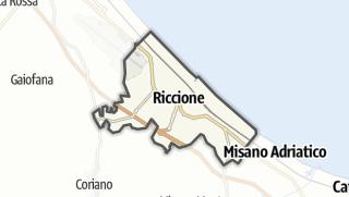 Mapa / Riccione