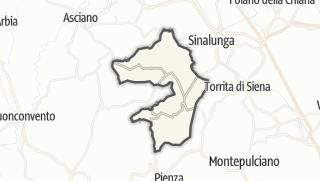 מפה / Trequanda