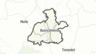 מפה / Buonconvento