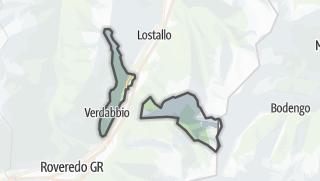 Mapa / Verdabbio