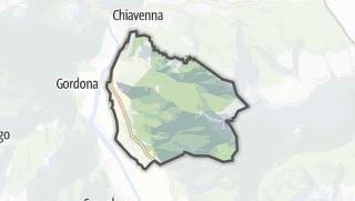 מפה / Prata Camportaccio