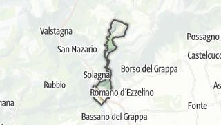 地图 / Pove del Grappa