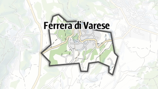 Mapa / Ferrera di Varese