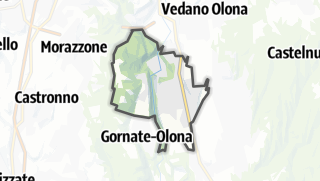 Mapa / Castiglione Olona