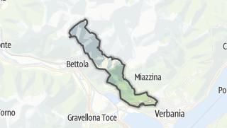 מפה / San Bernardino Verbano