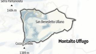 Mapa / San Benedetto Ullano