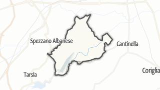 Mapa / Terranova da Sibari