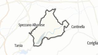 Térkép / Terranova da Sibari