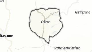 Hartă / Celleno
