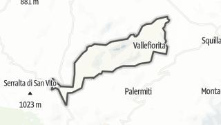 Mapa / Vallefiorita