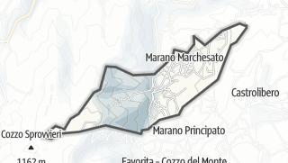 Térkép / Marano Marchesato