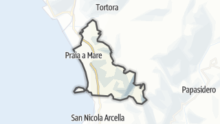 Mapa / Praia a Mare