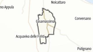 Térkép / Casamassima