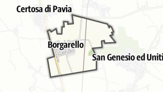 מפה / Borgarello