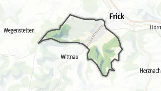 地图 / Gipf-Oberfrick