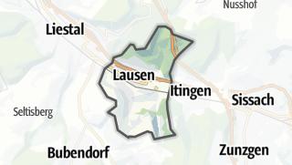 地图 / Lausen