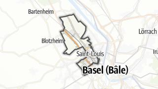 מפה / Saint-Louis
