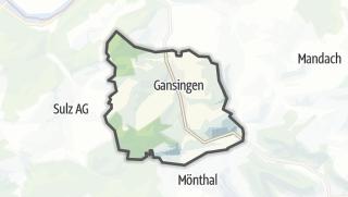 地图 / Gansingen