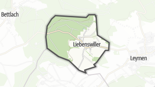 Cartina / Liebenswiller