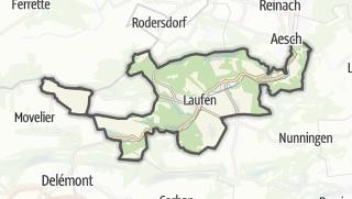 Karte / Laufen